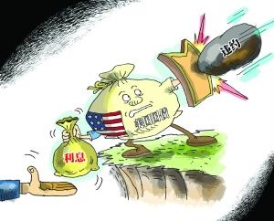 债务高企 美国经济前景越发暗淡