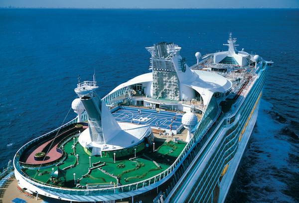 """皇家加勒比""""海洋航行者""""号在深圳首航"""