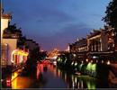 南京小吃 秦淮河夜景