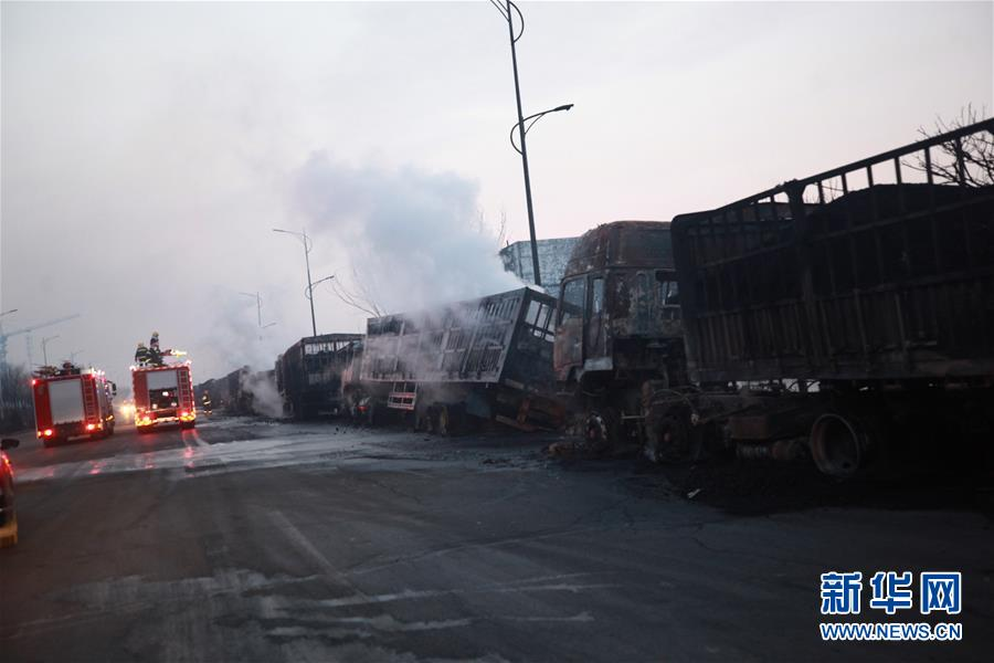 张家口爆炸事故初步原因系运输乙炔车辆引起连环爆炸
