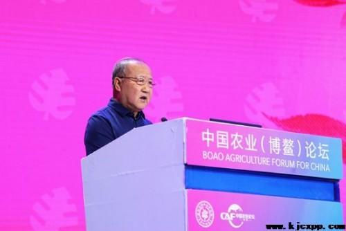 原农业部常务副部长刘收获致开幕辞