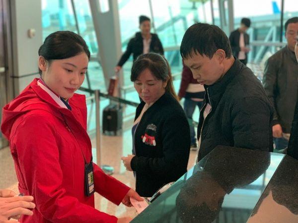 图:南航汕头公司实现第25个航空坦然年