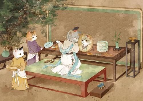 诸多迂腐的习惯都是人们内心的祝福预祝在新的一年里出入坦然家中多多招财进宝、万事写意