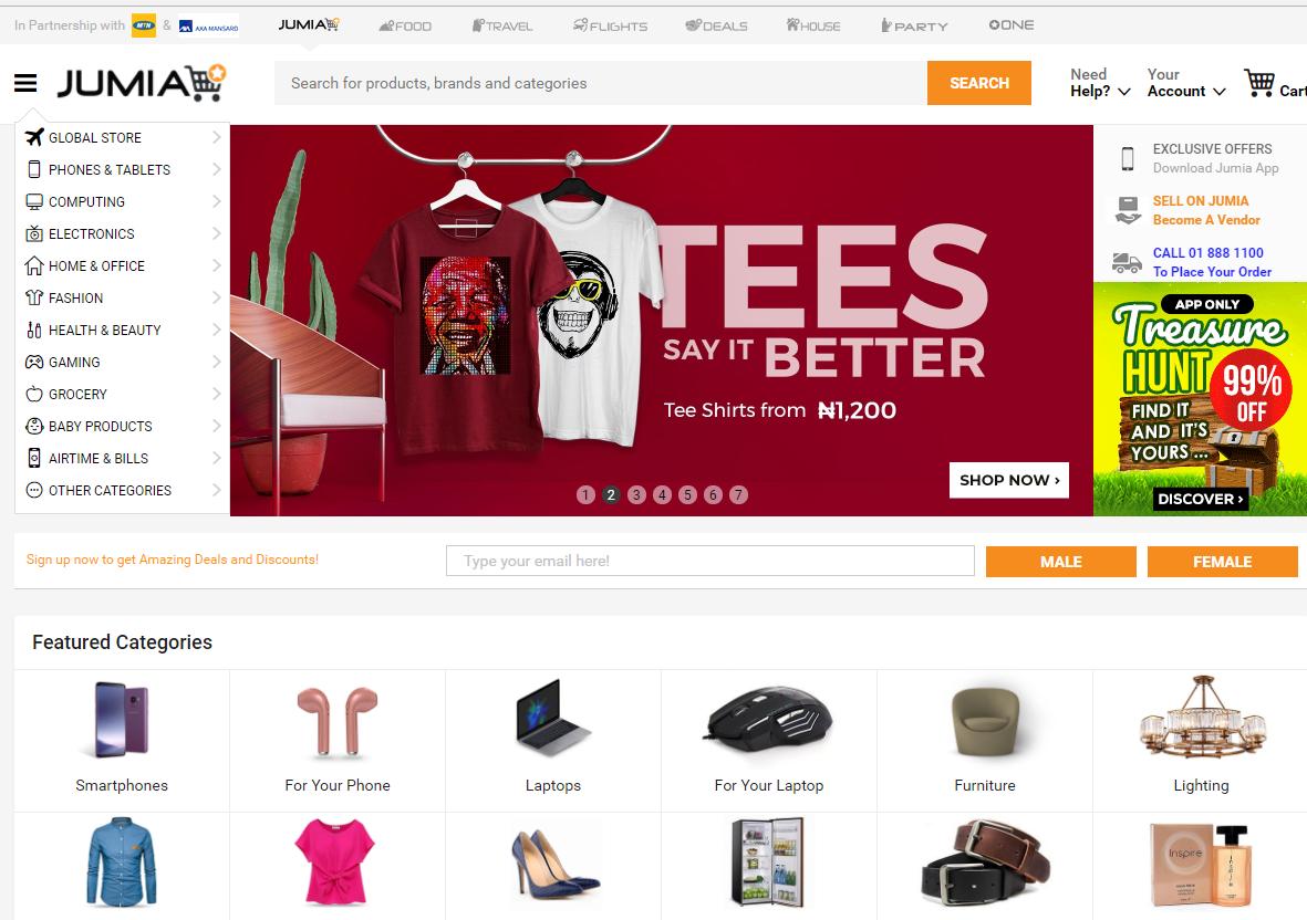 """""""非洲阿里巴巴""""Jumia即将赴纽约上市 预计筹资约1.9亿美元"""