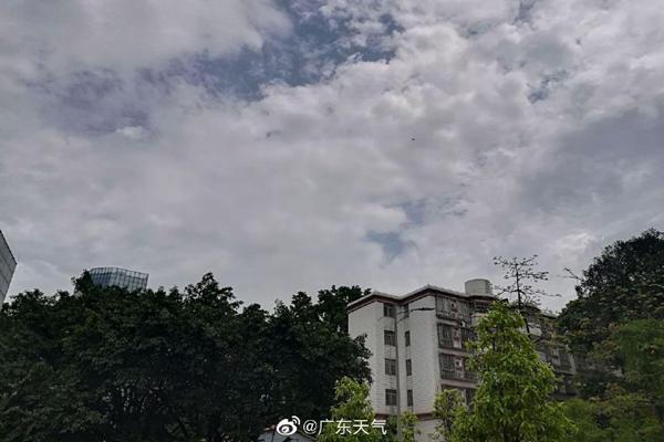 广东雨水今天暂歇 明天珠江三角洲等地又有大暴雨来袭