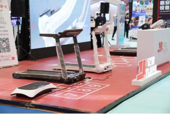 亿健携多款智能产品亮相2019中国高新科技展
