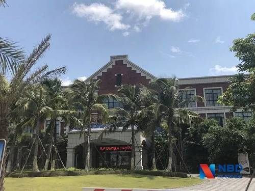 4月28日海南博鳌银丰康养国际医院(涉事医院)每经记者 刘玲 摄