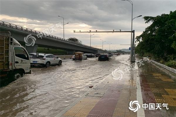 福建南平等地有暴雨局地大暴雨需防范次生灾害