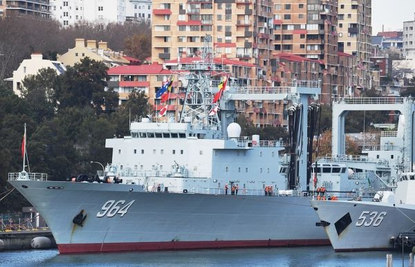 三艘中国军舰停靠悉尼港引澳媒关注 莫里森:这是一次有计划的互访