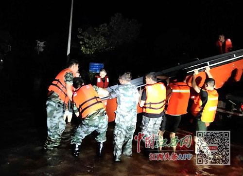 赣江2号洪水在上游形成(图)