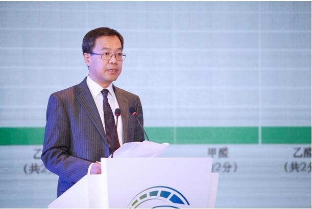 (中汽中心副总经理、C-ECAP管理中心主任李洧发布评价结果)