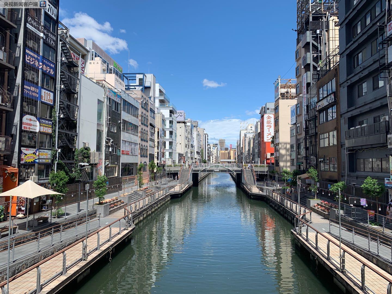 """自江户时代起,就有""""水都大阪,八百八桥""""的美称。八百八,其实在日语里是形容多的意思。每一座桥都有自己的名字(央视记者骆魏提供)"""
