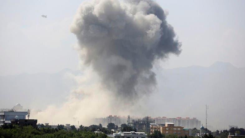 美驻阿富汗大使馆附近发生剧烈爆炸