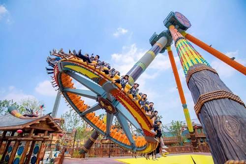 「世界影响力奇迹乐园」盛大开业,无锡融创文旅城引领欢乐狂潮!