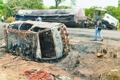 尼日利亚油罐车爆炸