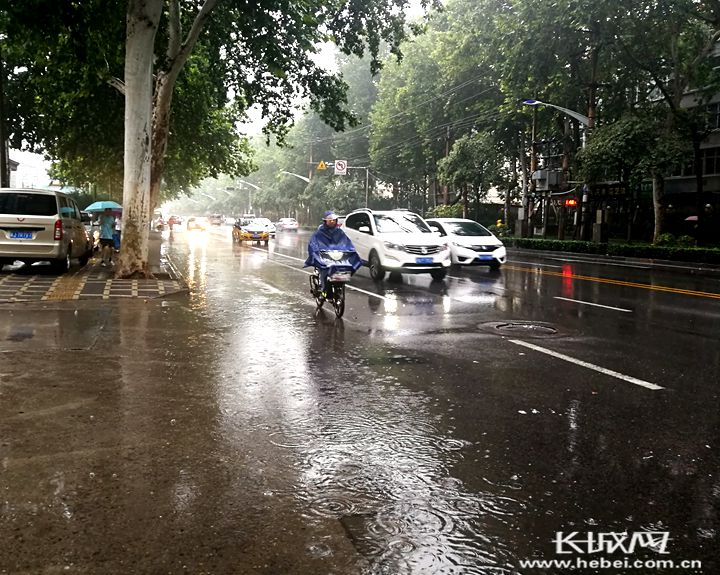 """受台风""""利奇马""""影响 未来三天河北降雨继续 沿岸海域有大风"""