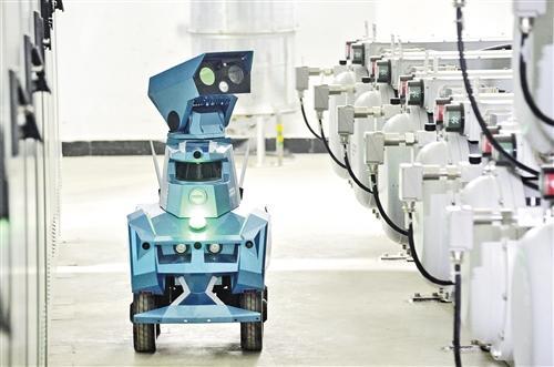 智能机器人 巡检新机场