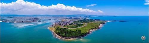 厦门湾实景图-香山半岛
