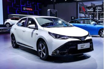 加快推进电动化战略 丰田携全方位环保车型亮相成都车展