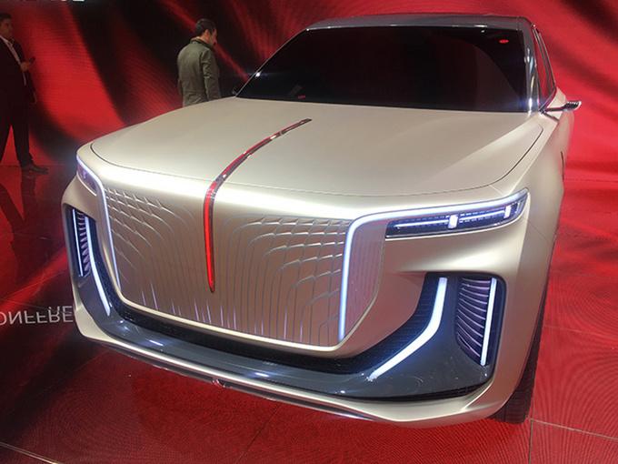 红旗纯电全尺寸SUV发布 续航里程超600公里