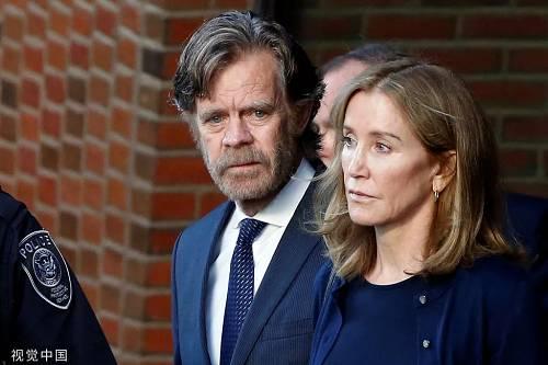 霍夫曼和丈夫。