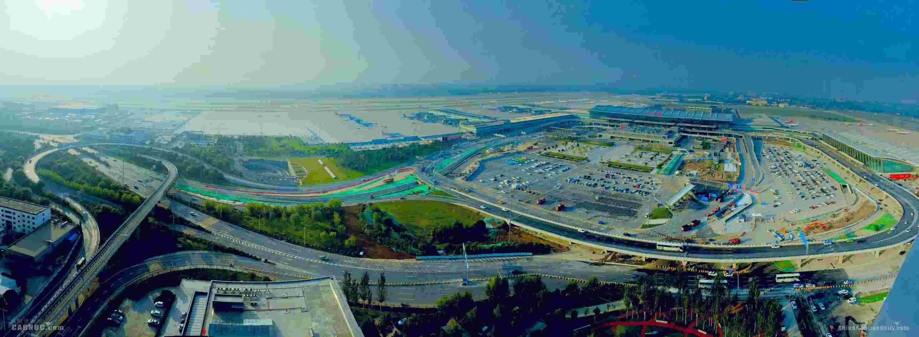 <b>西安咸阳机场航站区道路交通改造工程全面建成通车</b>