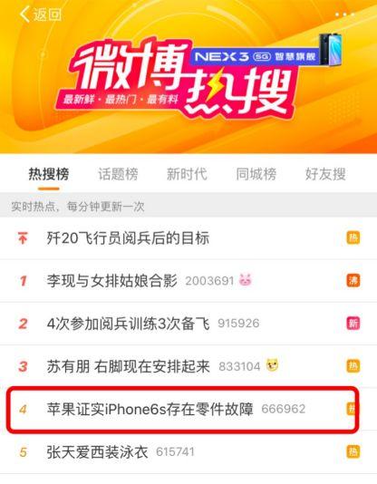 """""""果粉""""炸锅!苹果证实iPhone6s存在零件故障,可能导致……"""