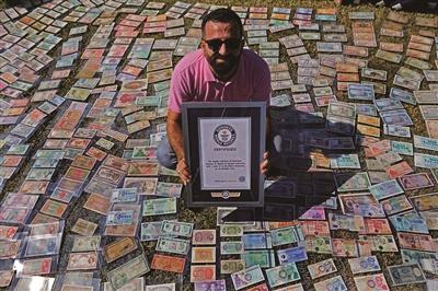 """12282张! 这个黎巴嫩男子全世界""""钱最多"""""""
