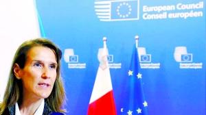 比利时任命首位女首相