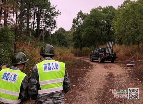 南昌实施人工增雨 森林火险等级降