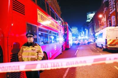 英国伦敦桥发生恐怖袭击