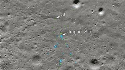 发现印度月球着陆器残骸