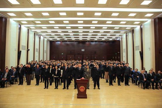 中国银保监会举行2019年宪法宣誓仪式