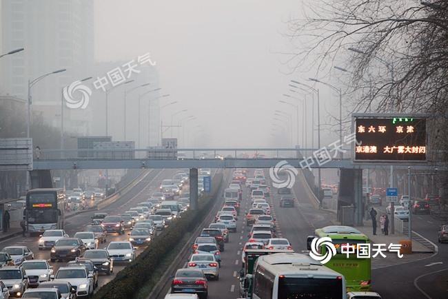 华北黄淮等地雾和霾明起减弱消散 详细时间表出炉!