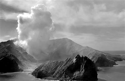 2名中国公民 在怀特岛火山喷发中受伤