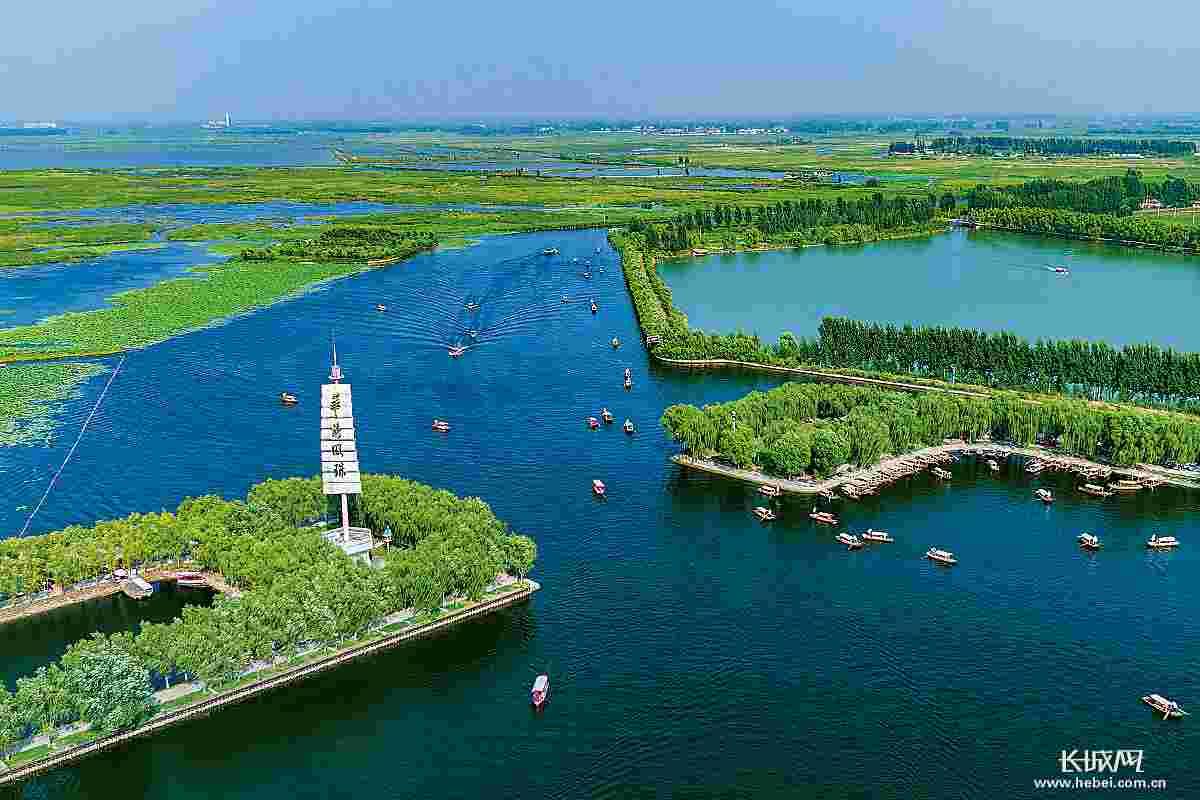【南水润冀五周年】高清大图!南水北调工程在河北有多美