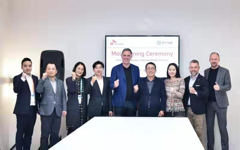 拜腾与韩国SK电讯合作 拓展车内数字体验