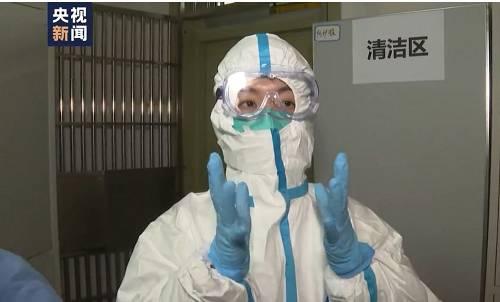 据记者介绍,穿全套防护服最核心的原则就是尽量不让自己的任何一寸皮肤暴露在空气当中。