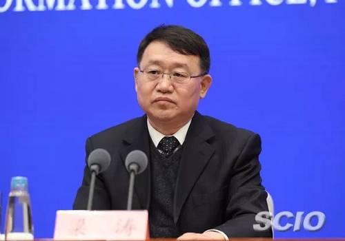 银保监会副主席梁涛(徐想 摄)