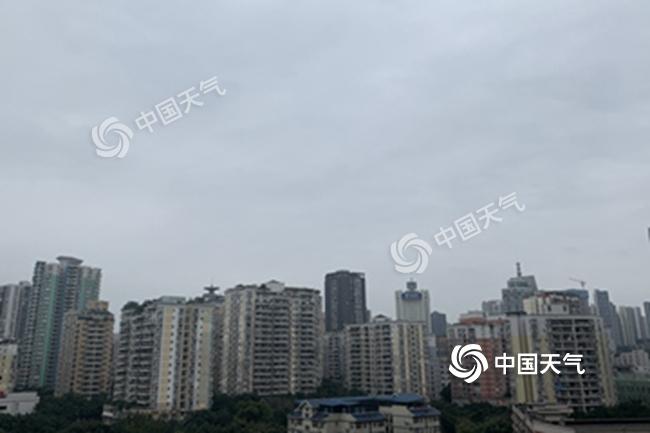 重庆未来三天阴雨不断 局地有中到大雨并伴雷电