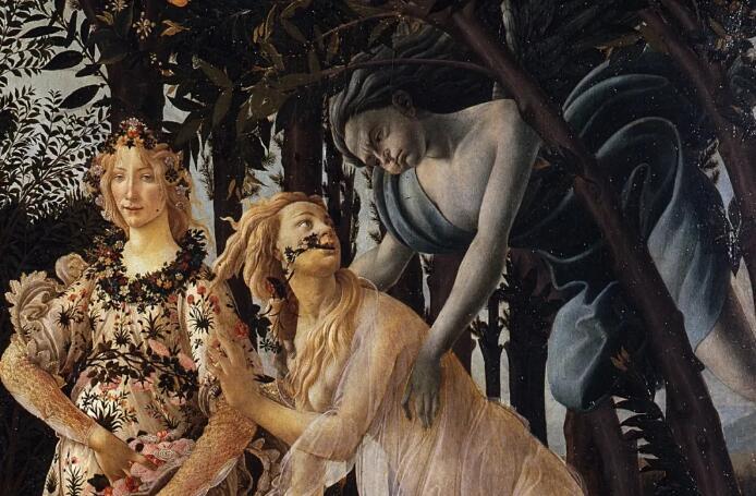 花神、森林精灵和西风之神