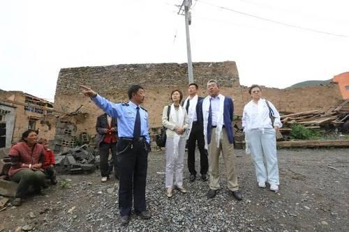 刘志忠在尤尼泰慈善公益活动中。