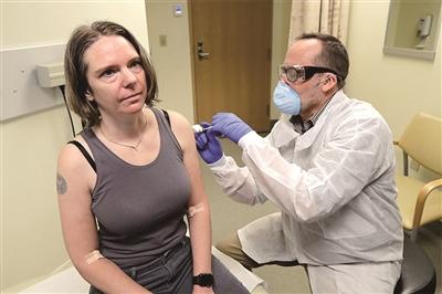 美国新冠病毒疫苗 开始第一阶段临床试验