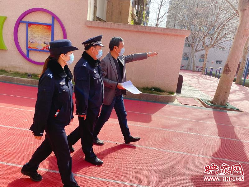 开学在即,郑州商城路警方紧抓复学前排查不放松