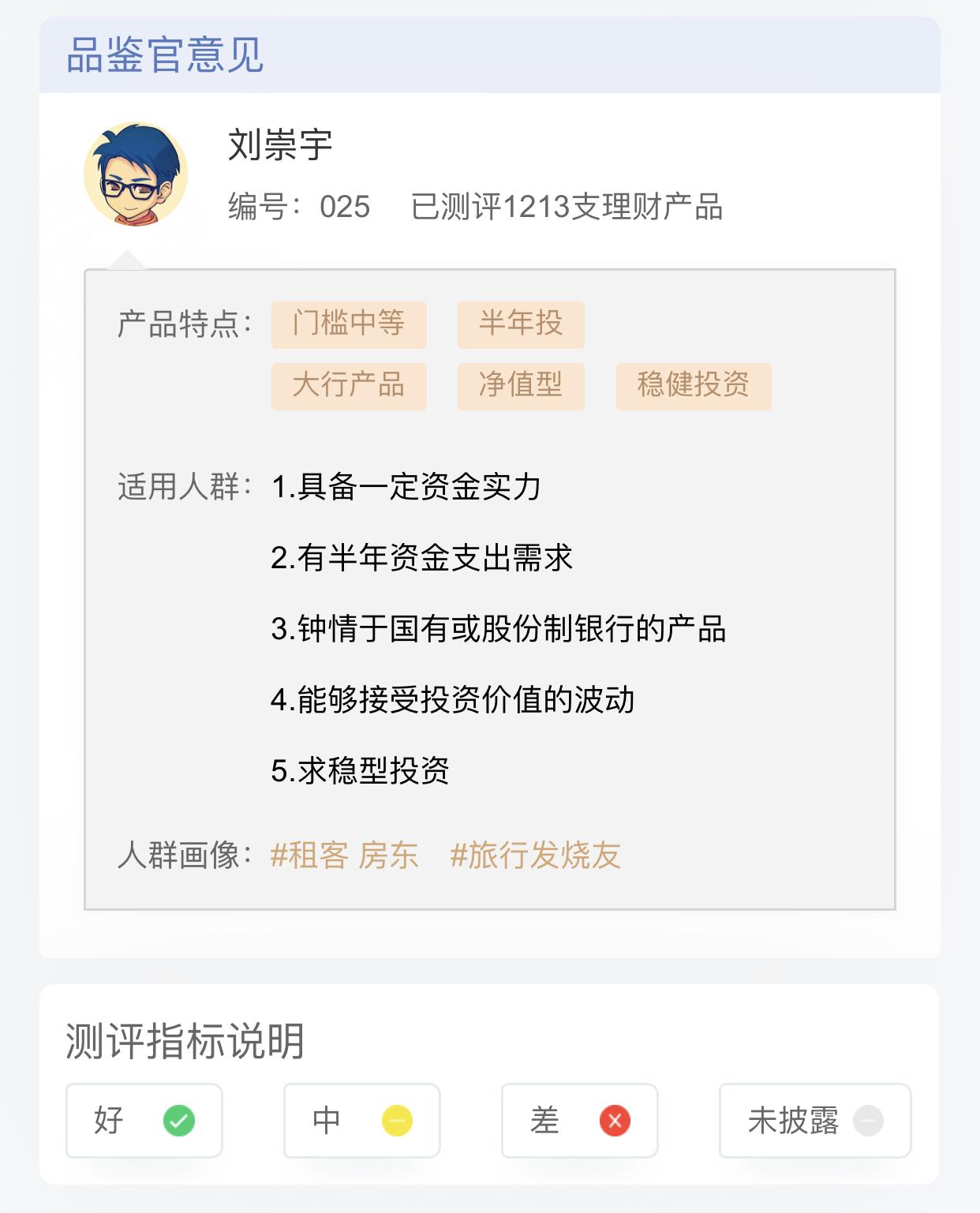 理财产品测评:中国工商银行・ 个人增享180天净值型理财产品