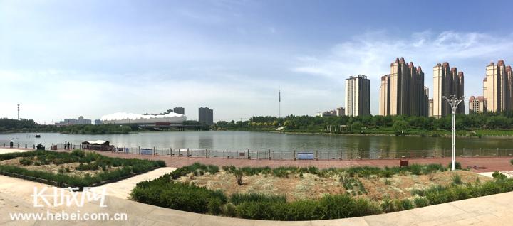 """船在水中行,人在画中游!衡水市区滏阳河的美景有点儿""""撩人"""""""