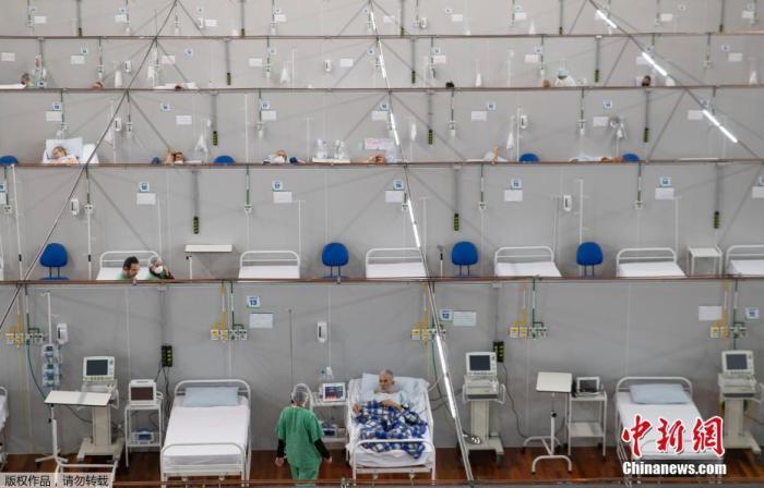 巴西累计新冠肺炎确诊病例破80万、死亡破4万 圣保罗市购物中心重新开放