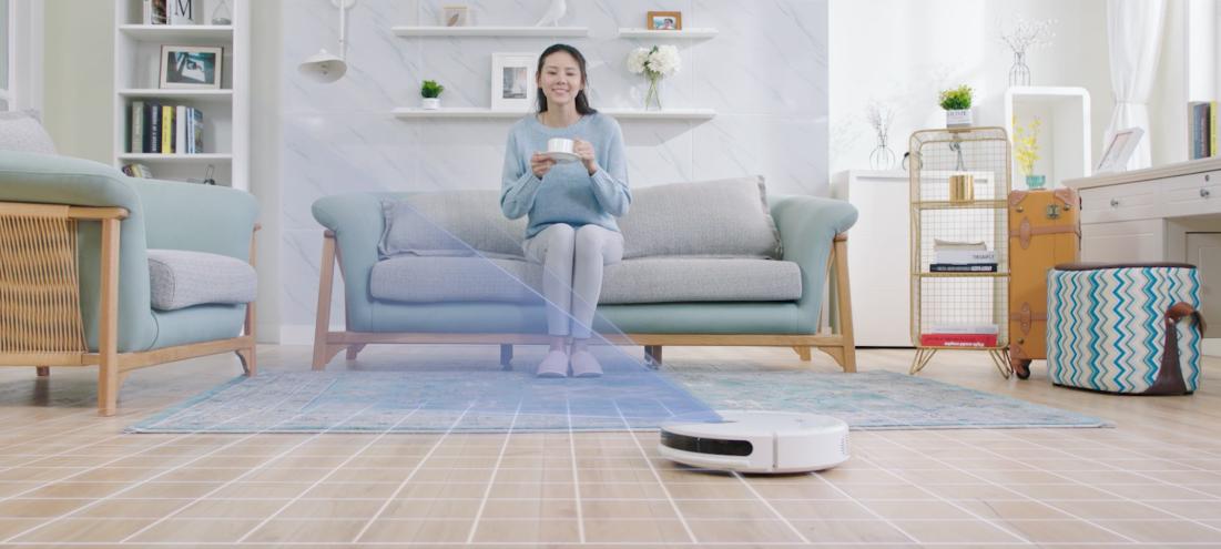 扫地机器人区别于市场同档价位的产品,这源于trifo团队深耕智能家庭图片