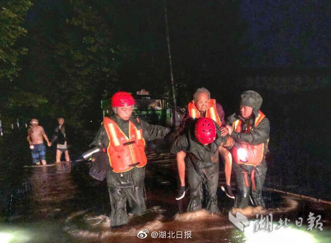 湖北强降雨已致超65万人受灾