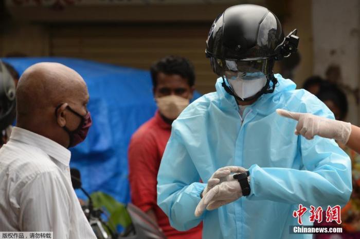 全球新冠确诊病例逼近1780万 世卫警告疫情风险高